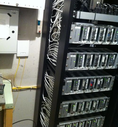 antenne anlæg hovedstation